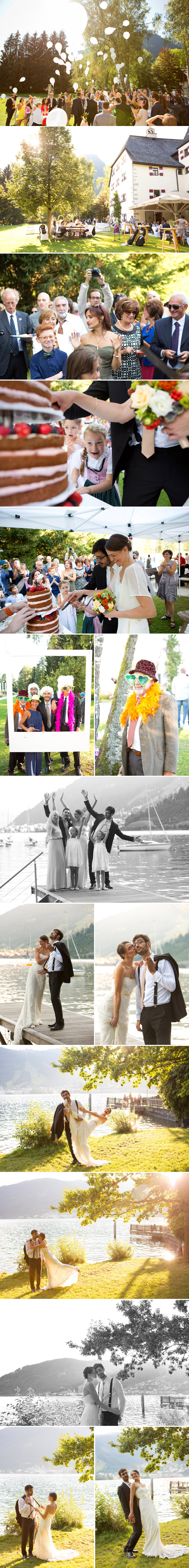 Wedding Photographer Zell am See. Destination Wedding Zell am See. © Michele Agostinis
